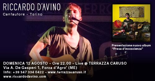 Live Terrazza Caruso Riccardo D Avino