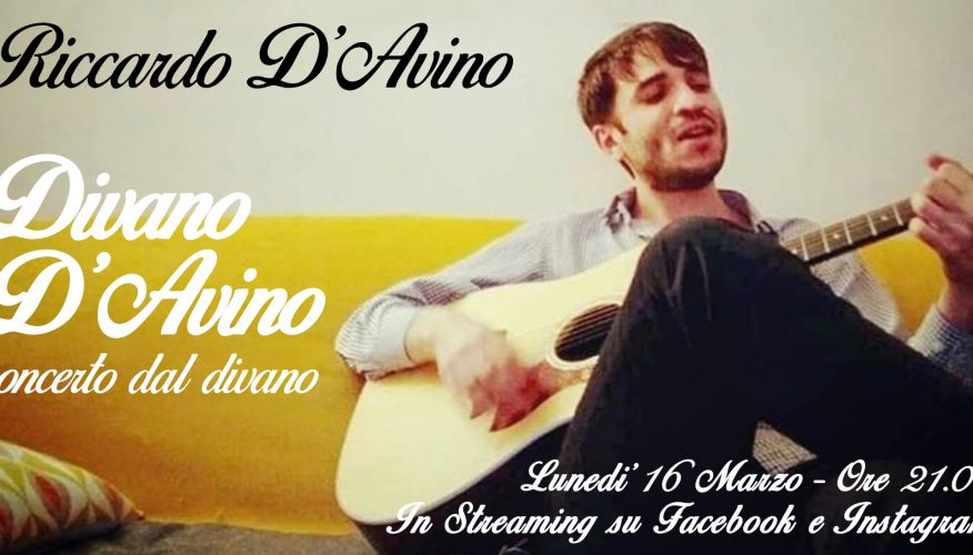 Divano D'Avino – Concerto in Streaming dal mio Divano