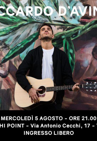 Live @Cecchi Point, Torino – 5 agosto